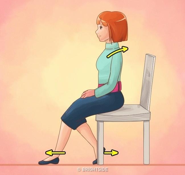 Làm được 10 điều này bạn sẽ không bao giờ bị gù lưng mỗi khi đứng hay ngồi - Ảnh 9.